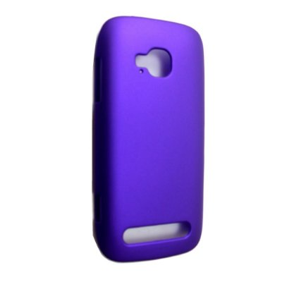 Capas de Plástico Resistente Roxo para Nokia Lumia 710