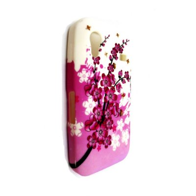 Capa Case Floral para Samsung Galaxy Ace ( S5830) - TPU