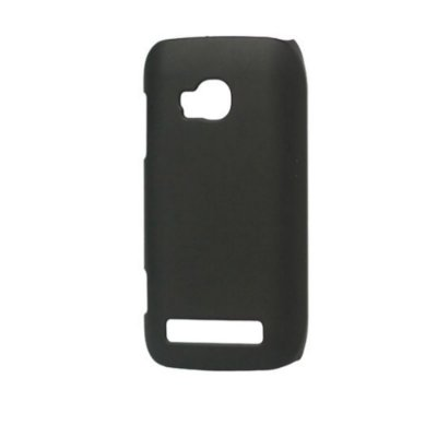 Capas de Plástico Resistente Preto para Nokia Lumia 710