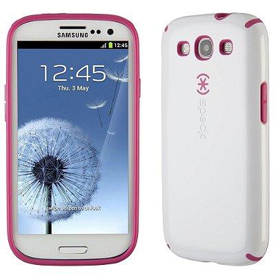 Capa Case Speck CandyShell Samsung Galaxy S3 Branco e Rosa