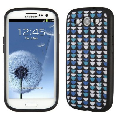 Capa Speck Fabshell Half Ovals Print para Samsung Galaxy S3