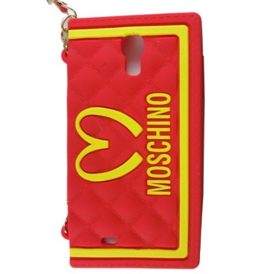 Capa Bolsa Moschino McDonalds para Samsung Galaxy S4