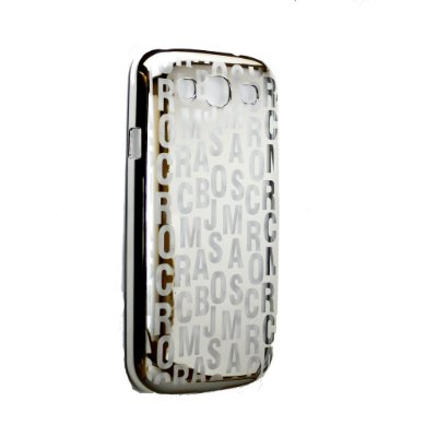 Capa Case Marc by Marc Jacobs Letras para Samsung Galaxy S3