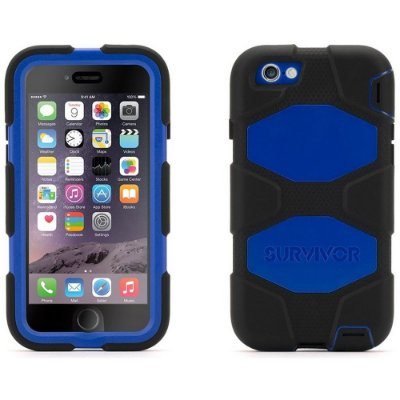 Capa Griffin Survivor para iPhone 6 - Preto e Azul