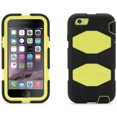 Capa Griffin Survivor para iPhone 6 - Preto e Verde