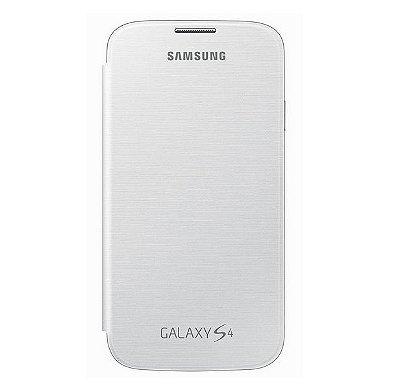 Capa Case para Samsung Galaxy S4 Flip Cover - Branco