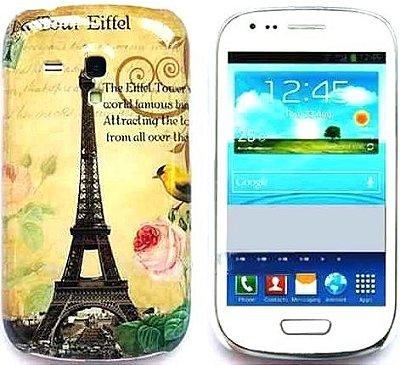 Capa Case Torre Eiffel Paris para Samsung Galaxy S3 Mini