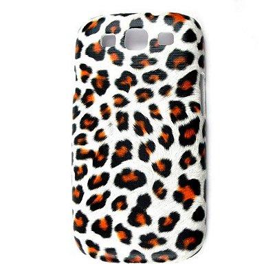 Capa Case Onça Animal Print para Samsung Galaxy S3