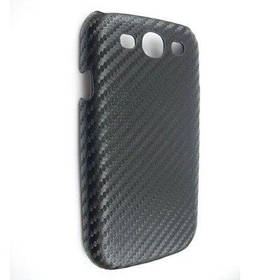 Capa Case Fibra de Carbono Preto para Samsung Galaxy S3