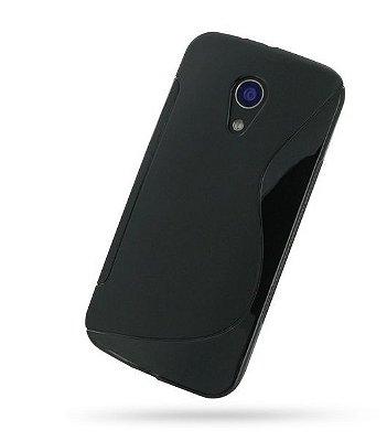 Capa Case S Type para Motorola Moto G2 - Preto