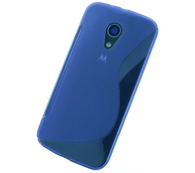 Capa Case S Type para Motorola Moto G2 - Azul