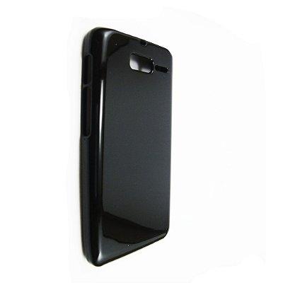 Capa Case de TPU para Motorola RAZR i XT890 - Preto