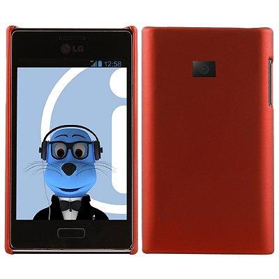 Capa Case para LG Optimus L3 ( E400) - Vermelho