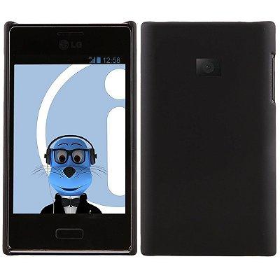 Capa Case para LG Optimus L3 ( E400) - Preto
