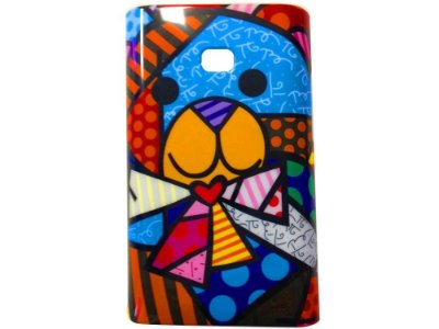 Capa Case Urso Britto para LG Optimus L3 ( E400)