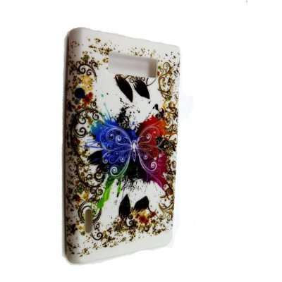Capa Case para LG Optimus L7 - Borboleta Splash