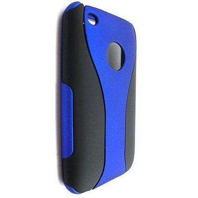 Capa Case de Super Proteção para iPhone 3 - Azul