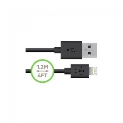 Cabo de Lightning  Belkin para iPhone, iPod, iPad (1,2 m)