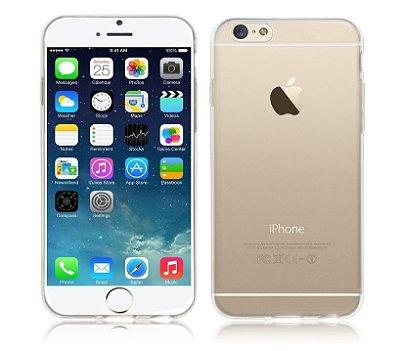 Capa Case de TPU Transparente para Iphone 6  - 4,7 Polegadas