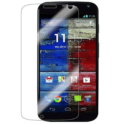 Película para Motorola Moto X 1° Geração de vidro temperado.