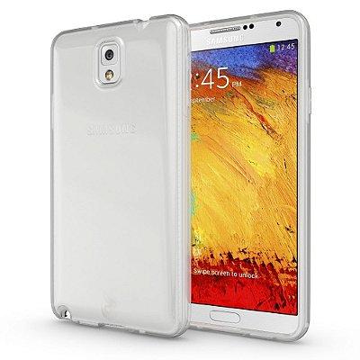Capa Case de TPU Transparente para Samsung Galaxy Note 3 Ultra fina