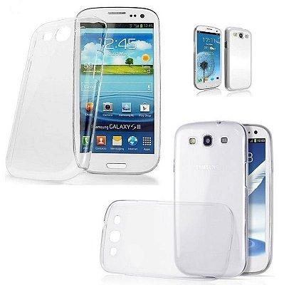 Capa Case de TPU Transparente para Samsung Galaxy S3 Ultra fina