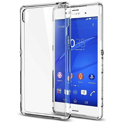 Capa Case de TPU Transparente para Sony Xperia Z3 MINI Ultra Fina