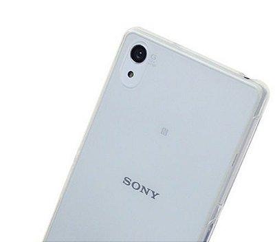 Capa Case de TPU Transparente para Sony Xperia Z2 Ultra Fina