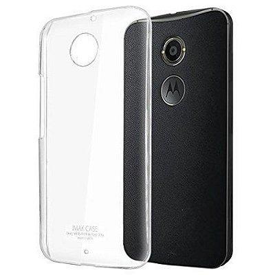 Capa Case de TPU Transparente para Motorola Moto X 2ND Geração Ultra fina.