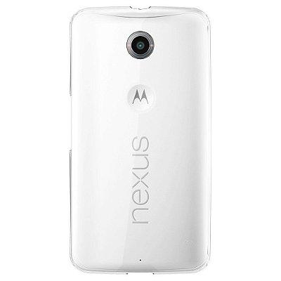 Capa Case de TPU Transparente para Motorola Nexus 6 Ultra fina
