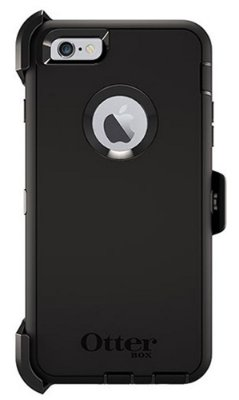 Capa Otterbox defender para iPhone 6 Plus - Preto