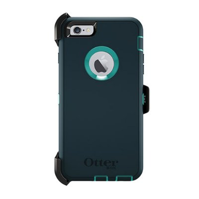 Capa Otterbox defender para iPhone 6 Plus - Jade e Azul