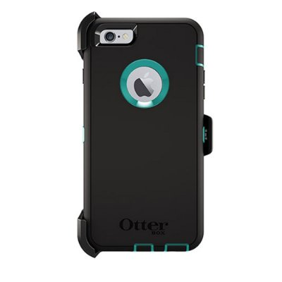 Capa Otterbox defender para iPhone 6 Plus - Preto e Azul