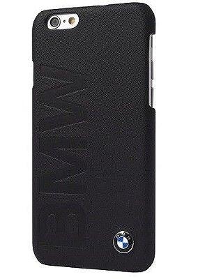 Capa Case para iPhone 6 Oficial da BMW em Couro Preto