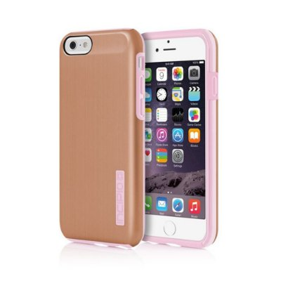 Capa Incipio Dualpro Shine para iPhone 6 - Gold Rose / Blush