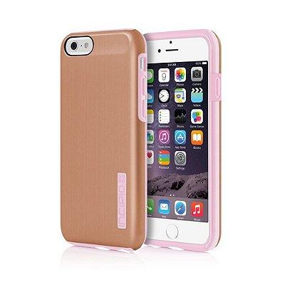 Capa Incipio Dualpro Shine para iPhone 6 - Gold Rose / Blush