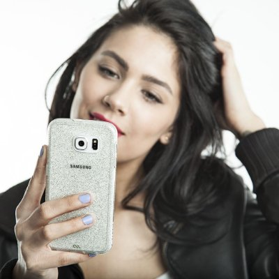 Capa Case-Mate Naked Tough Glam para Samsung Galaxy S6 Edge