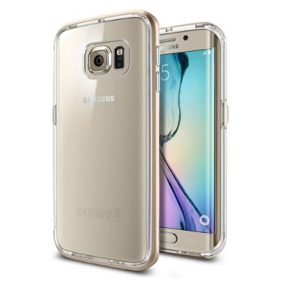 Capa SGP Spigen Neo Hybrid CC para Galaxy S6 Edge - Champagne Gold
