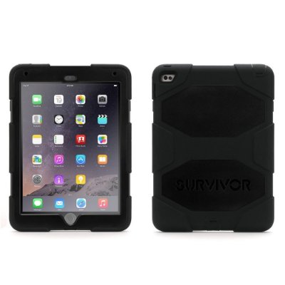 Capa Griffin Survivor All Terrain para iPad Air 2 - Preto