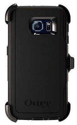 Capa Case Otterbox Defender para Samsung Galaxy S6 - Preto