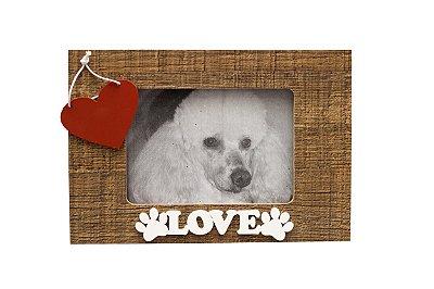 Porta retrato Love Wood