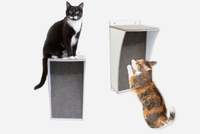 Arranhador de Parede para Gatos Multi - Branco