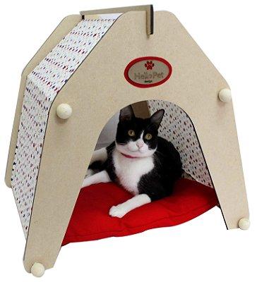 Casinha Luna marinho - Para Cães e Gatos