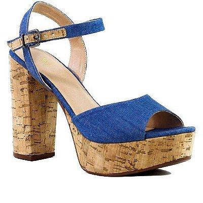 Sandália Balaia MOD 158 Azul Jeans