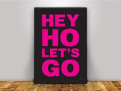 Poster Ramones - Hey Ho Let's Go