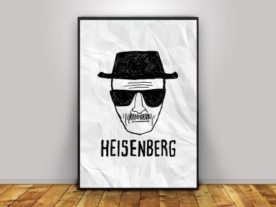 Poster Heisenberg - Breaking Bad