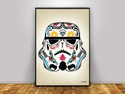 Poster Stormtrooper Mexicano
