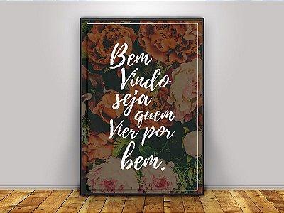 Poster Bem Vindo