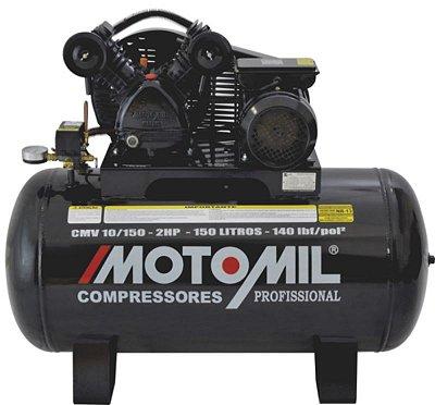 COMPRESSOR DE AR PROFISSIONAL 1 ESTÁGIO – CMV-10/100 MONOFASICO