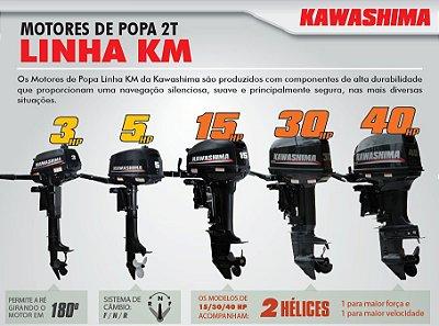 Motor de Popa KAWASHIMA KM 5Hp